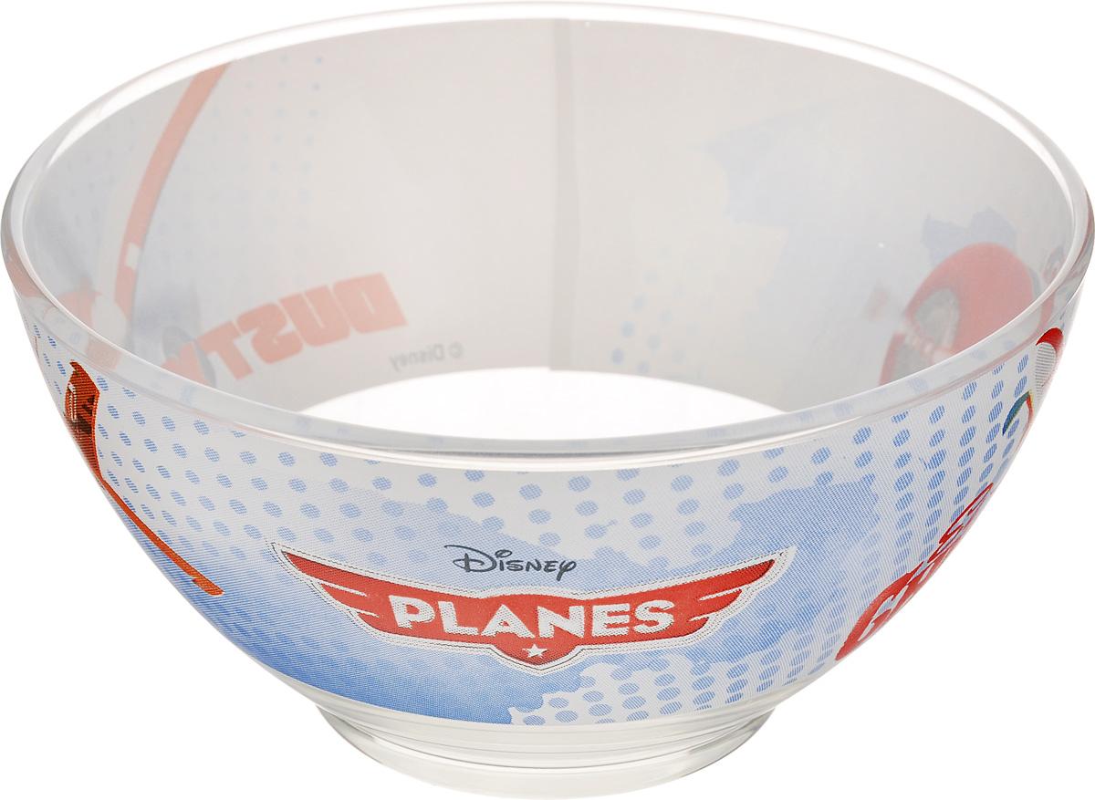 Пиала Luminarc Disney Planes, 500 млJ0801Пиала Luminarc Disney Planes изготовлена из ударопрочного стекла и оформлена ярким изображением. Изделие прекрасно подойдет для салатов, супа или мороженого. Благодаря оригинальному дизайну, такая пиала понравится вашим детям. Она дополнит коллекцию кухонной посуды и будет служить долгие годы. Объем пиалы: 500 мл. Диаметр пиалы (по верхнему краю): 13 см. Высота пиалы: 7 см.