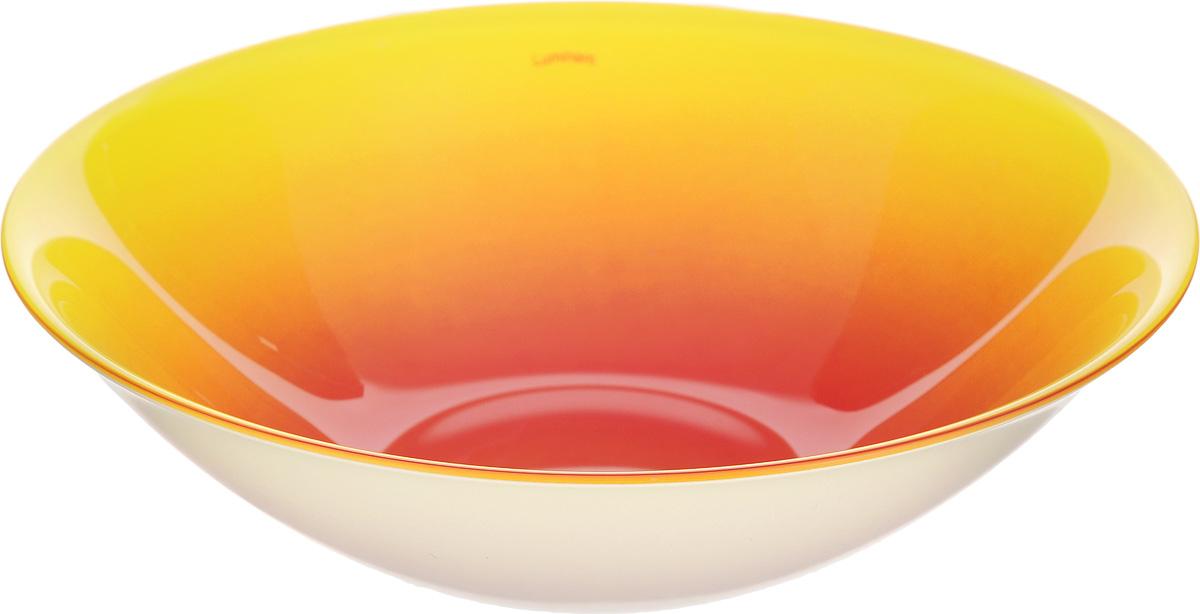 Миска Luminarc Fizz Lemon, диаметр 16 смG9560Миска Luminarc Fizz Lemon выполнена из высококачественного стекла. Изделие сочетает в себеизысканный дизайн с максимальной функциональностью. Она прекрасно впишется в интерьер вашей кухни и станет достойным дополнением к кухонному инвентарю. Миска Luminarc Fizz Lemon подчеркнет прекрасный вкус хозяйки и станет отличным подарком. Диаметр миски (по верхнему краю): 16 см.Высота миски: 4,5 см.