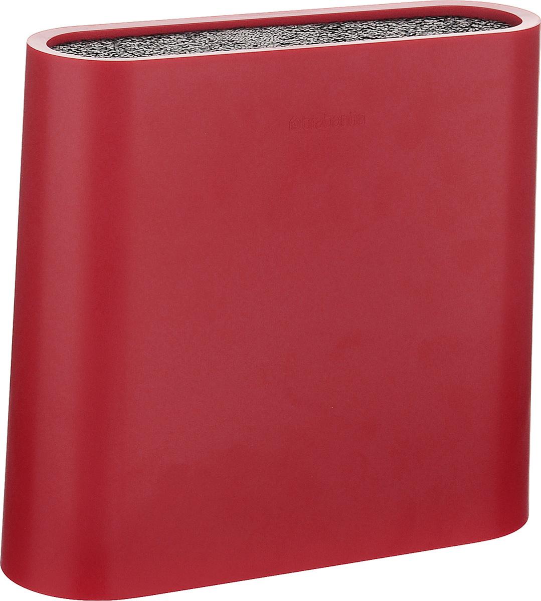 Подставка для ножей Brabantia Tasty Colors, цвет: красный. 108129
