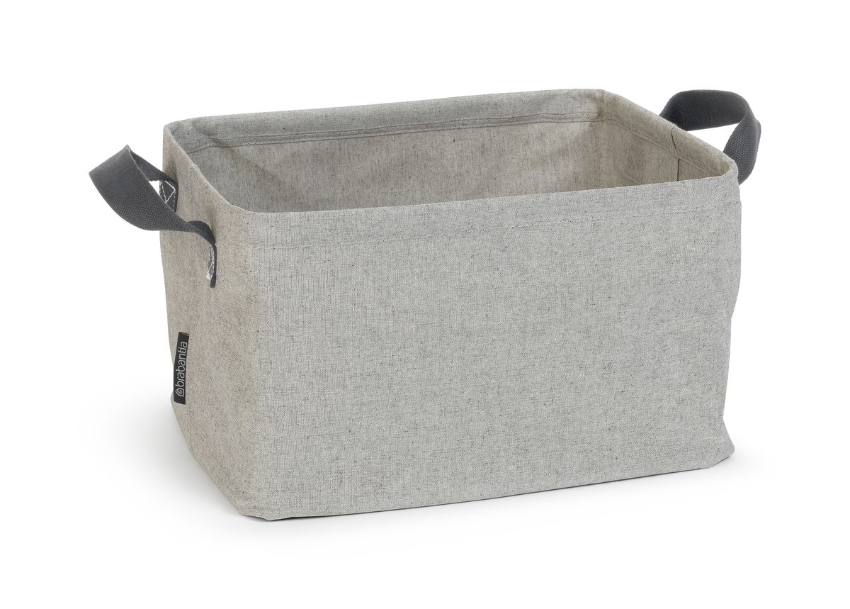 Корзина для белья Brabantia, складная, цвет: серый, 35 л. 105685105685Большая вместимость – вмещает полную машинную партию белья. Удобна и компактна в хранении – легко и быстро складывается. Может использоваться как для сухого, так и для мокрого белья. Имеет специальное водостойкое покрытие.