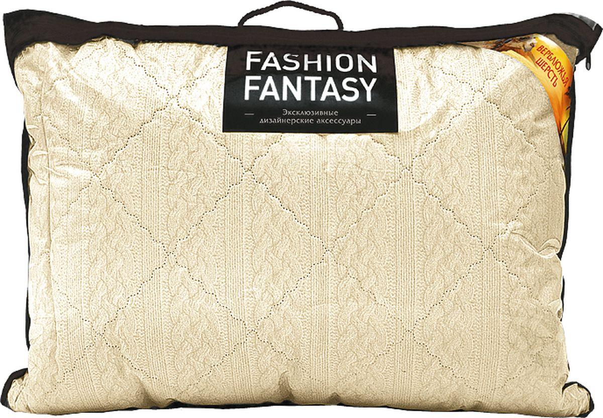 Подушка Fashion Fantasy, цвет: бежевый, 50 х 70 см dolce bambino подушка матрас dolce pad цвет бежевый 65 х 38 х 18 см