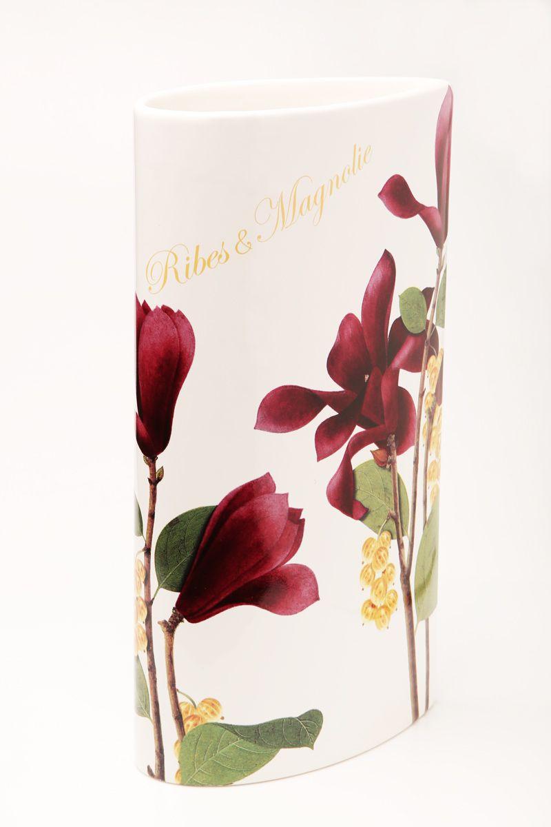 Ваза Ceramiche Viva Магнолия, высота 30 см85175Изящная ваза Ceramiche Viva Магнолия изготовлена из керамики и оформлена цветочным рисунком. Изделие сочетает в себе оригинальный дизайн с максимальной функциональностью.Ваза Ceramiche Viva Магнолия дополнит интерьер офиса или дома и станет желанным подарком для ваших близких.Диаметр вазы по верхнему краю: 16 см.Высота вазы: 30 см.
