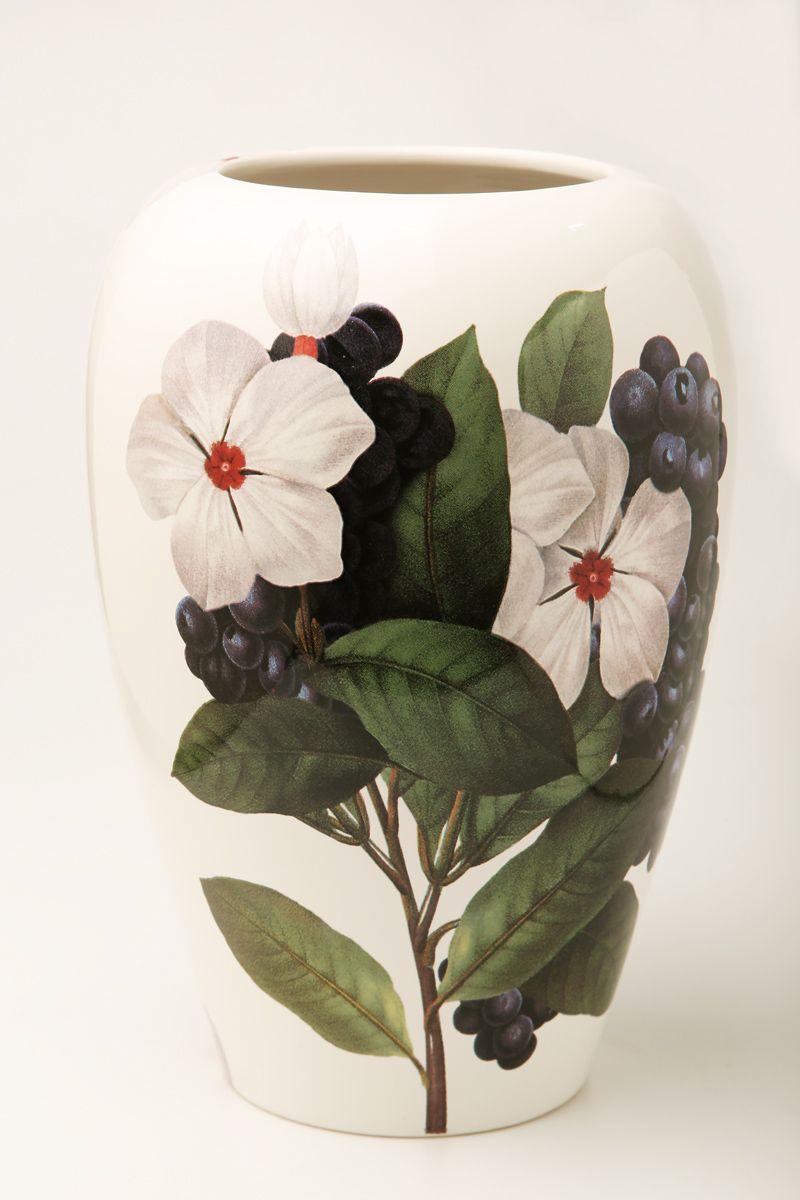 Ваза Ceramiche Viva Нежность, высота 26 см86104Изящная ваза Ceramiche Viva Нежность изготовлена из керамики и оформлена цветочным рисунком. Изделие сочетает в себе оригинальный дизайн с максимальной функциональностью. Ваза Ceramiche Viva Нежность дополнит интерьер офиса или дома и станет желанным подарком для ваших близких.Диаметр вазы: 19 см.Высота вазы: 26 см.