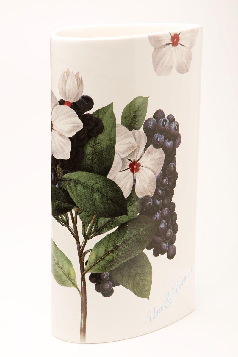 Ваза Ceramiche Viva Нежность, высота 30 см. 8617586175Изящная ваза Ceramiche Viva Нежность изготовлена из керамики и оформлена цветочным рисунком. Изделие сочетает в себе оригинальный дизайн с максимальной функциональностью. Ваза Ceramiche Viva Нежность дополнит интерьер офиса или дома и станет желанным подарком для ваших близких.Диаметр вазы по верхнему краю: 16 см.Высота вазы: 30 с