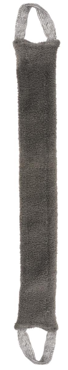 Мочалка Eva Макси, из льна, с ручками, цвет: серый, 70 х 9 смМ402_серыйМягкая мочалка Eva Макси изготовленная из льна, станет незаменимым аксессуаром ванной комнаты. Она отлично пенится и быстро сохнет. Такая натуральная мочалка из волокон льна обладает бактерицидными свойствами. Она обладает эффектом деликатного массажа, тонизирует и очищает кожу. Не вызывает аллергии.