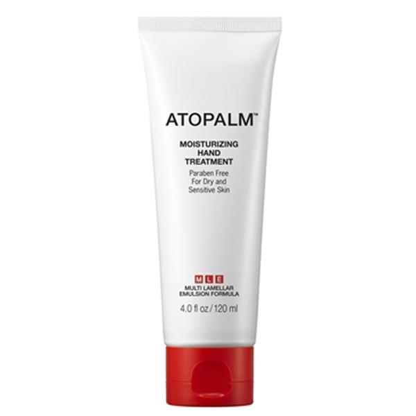 Atopalm Увлажняюший крем для рук, 120 мл8809048414754Компанияпроизводитель Neopharm разработала уникальную технологию защиты кожи, основанную на MLE. MLE – это многослойная эмульсия, которая воспроизводит слоистую структуру кожи. Крем интенсивно смягчает, увлажняет сухую кожу и формирует защитный барьер от негативного воздействия окружающей среды. Многофункциональная формула крема для рук эффективно борется с видимыми признаками старения, такими как морщины помогая коже выглядеть более подтянутой и эластичной. Подходит для сухой и чувствительной кожи.