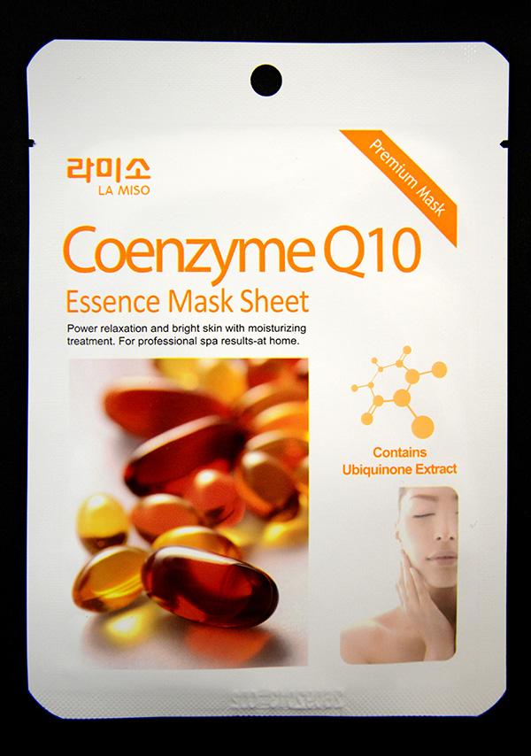 La Miso Маска-салфетка с Q10, 21 г косметические маски la miso маска моделирующая альгинатная с коэнзимом q10 1000 гр