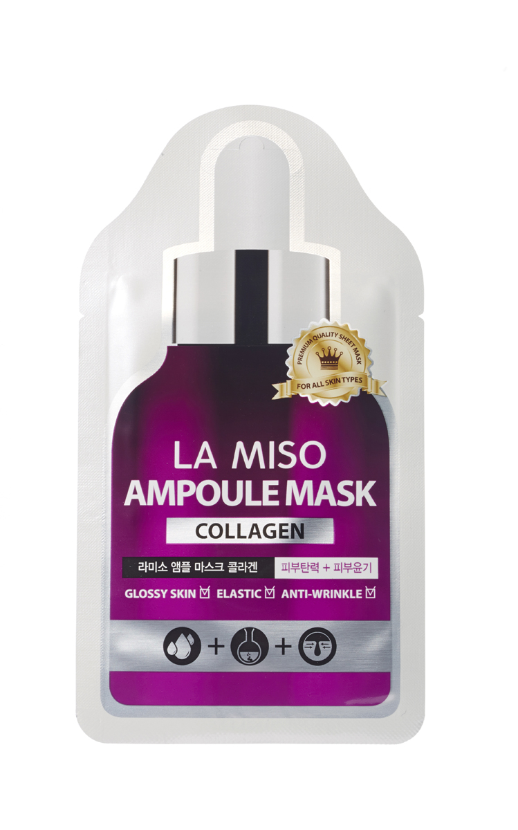 La Miso Ампульная маска  коллагеном, Ampoule mask collagen, 25