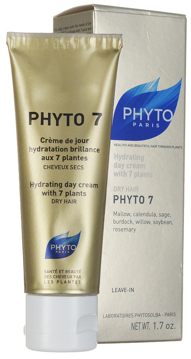 Phytosolba 7 крем Beauty Enhancing 50 млP6201XФито 7 - эффективный уход за волосами для ежедневного использования. Это средство с уникальным составом, включающим компоненты 7 растений, выбранных за их увлажняющие и восстанавливающие свойства. Это 100% растительный состав. Деликатный, нежирный крем укрепляет естественные защитные механизмы сухих волос, сохраняя оптимальный уровень увлажнения. Волосы становятся блестящими, мягкими и эластичными. Фито 7 рекомендуется для природно-сухих волос, тусклых и жестких. Не утяжеляет волосы, сохраняет укладку. Облегчает расчесывание.
