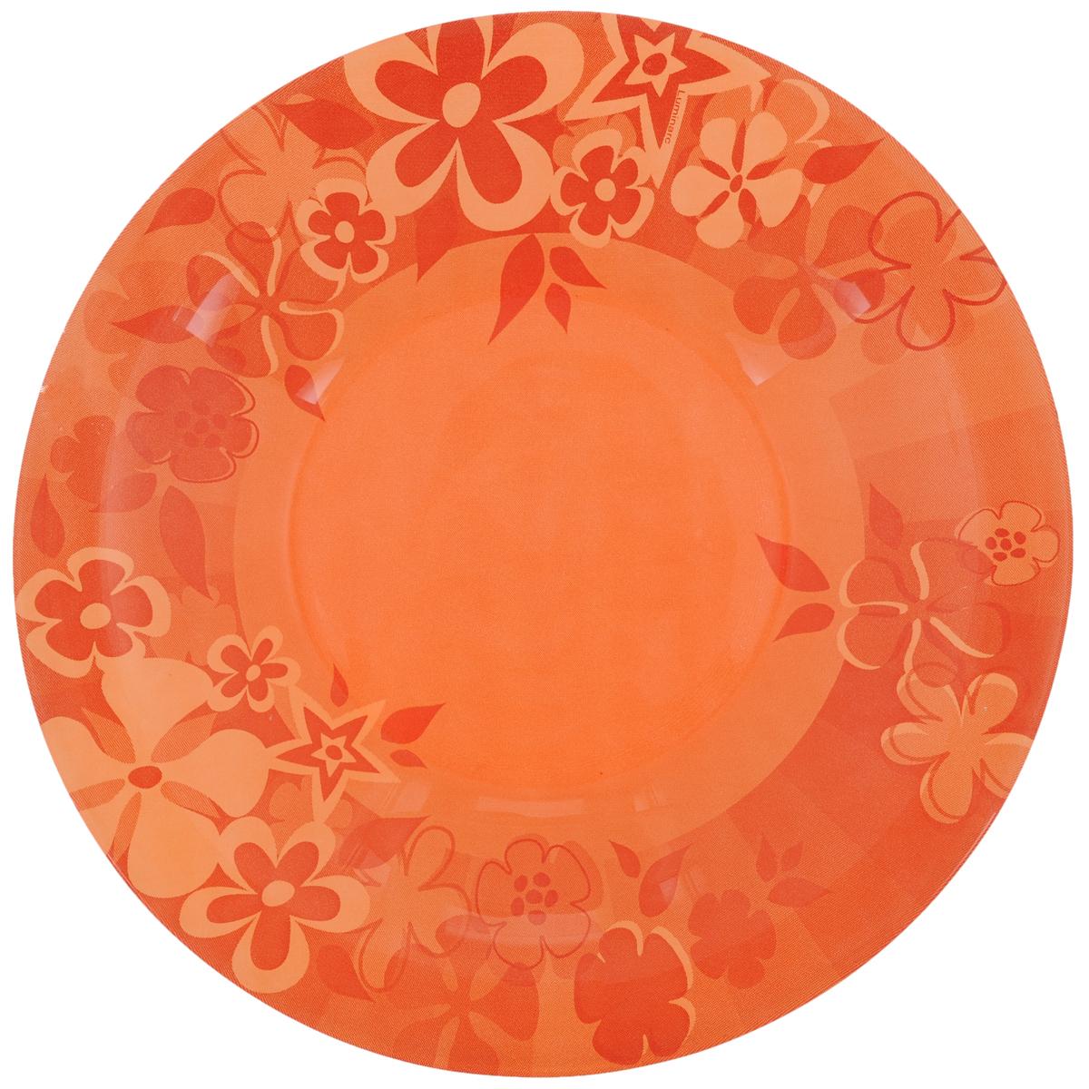 Тарелка глубокая Luminarc Little Flowers, диаметр 21,5 смH5122Глубокая тарелка Luminarc Little Flowers выполнена из ударопрочного стекла и украшена изображением цветов. Она прекрасно впишется в интерьер вашей кухни и станет достойным дополнением к кухонному инвентарю. Тарелка Luminarc Little Flowers подчеркнет прекрасный вкус хозяйки и станет отличным подарком. Можно мыть в посудомоечной машине и использовать в микроволновой печи.Диаметр тарелки по верхнему краю: 21,5 см.Высота стенки: 3,2 см.