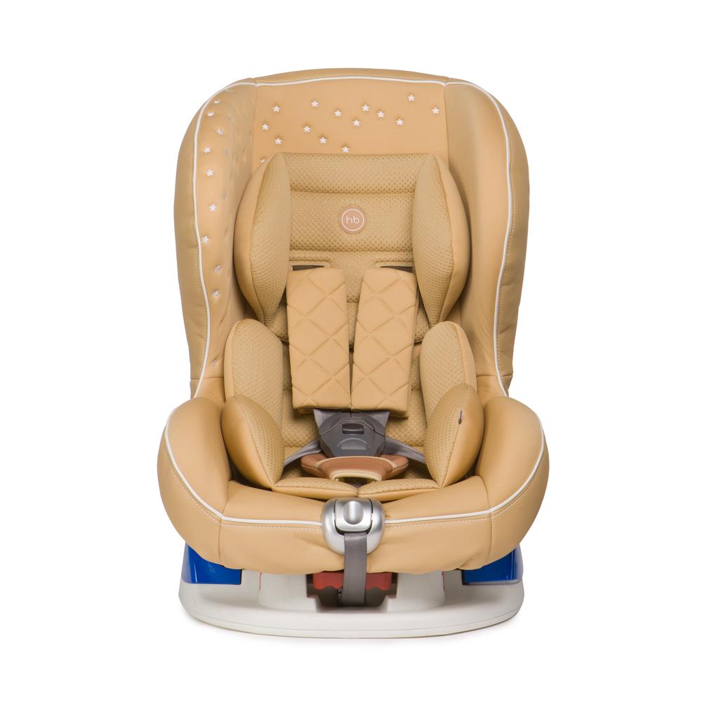 Happy Baby Автокресло Taurus V2 Beige до 18 кг4650069782940Автокресло Happy Baby Taurus V2 Beige - это удобное, повышенной комфортности кресло для детей до 18 кг (группа 0/1).Съемный чехол автокресла создан из высококачественной, приятной на ощупь эко-кожи и имеет текстильный матрасик, который создает дополнительный комфорт для ребенка. Безопасность гарантируют пятиточечные ремни безопасности с мягкими накладками, а дополнительная анатомическая вкладка позволит занять малышу уютное правильное положение. Модель имеет выдвижную опору для дополнительного угла наклона и устанавливается лицом по ходу или против движения автомобиля, в зависимости от возраста и веса ребенка. Дизайн выполнен с использованием декоративной вышивки и стежки, что создает неповторимый стильный образ автокресла.Внешний вид кресла подчеркнет изысканный вкус родителей и украсит салон вашего автомобиля.