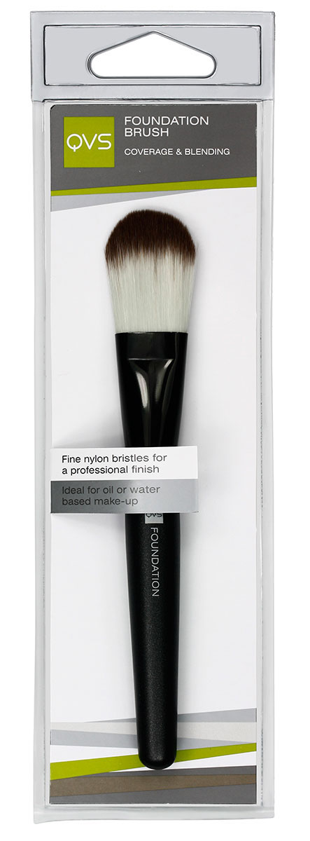 QVS Кисть для основы макияжа из мягких синтетических волокон10-1095Кисть для основы макияжа из мягких синтетических волокон