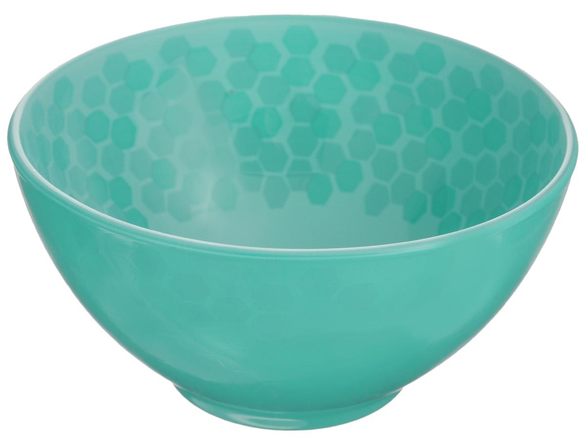 """Пиала Luminarc """"Preppy Colors"""" изготовлена из  высококачественного стекла и украшена  изображением сот. Изделие прекрасно подойдет  для салатов, супа или мороженого.  Пиала дополнит коллекцию кухонной посуды и  будет служить долгие годы.  Можно мыть в посудомоечной машине.  Объем пиалы: 500 мл.  Диаметр пиалы (по верхнему краю): 13 см.  Высота пиалы: 7 см."""