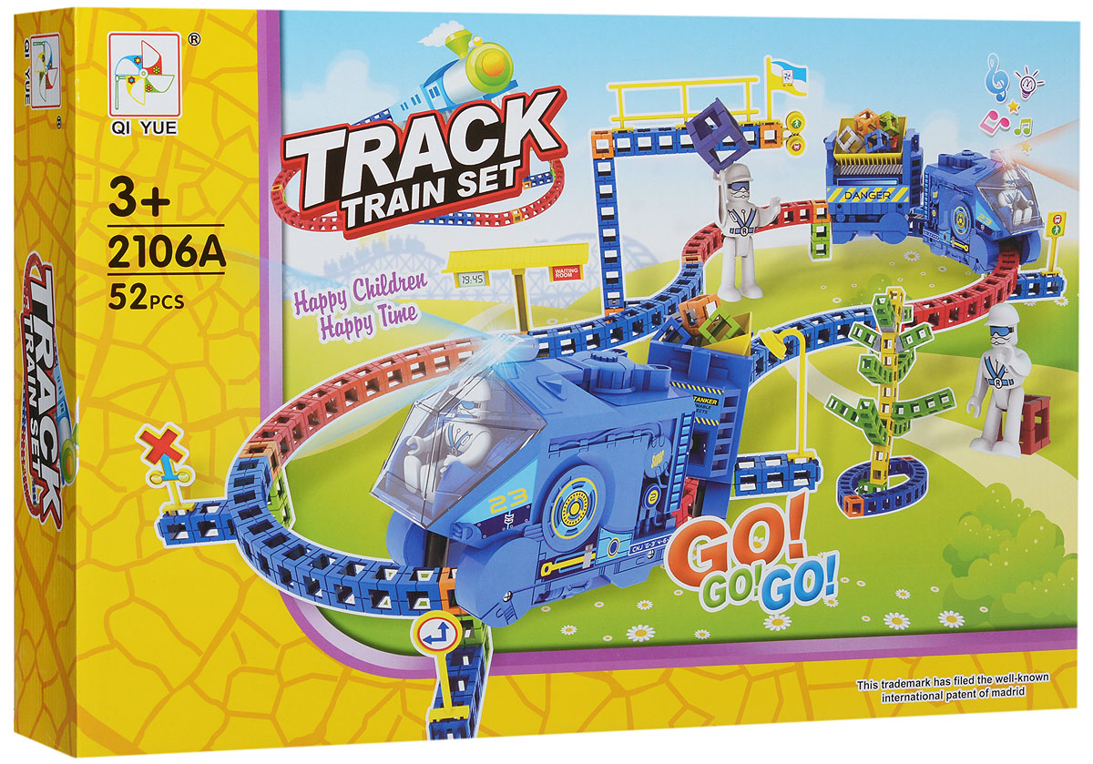 Bradex Конструктор Track Train Set конструктор bradex трек трейн сэт