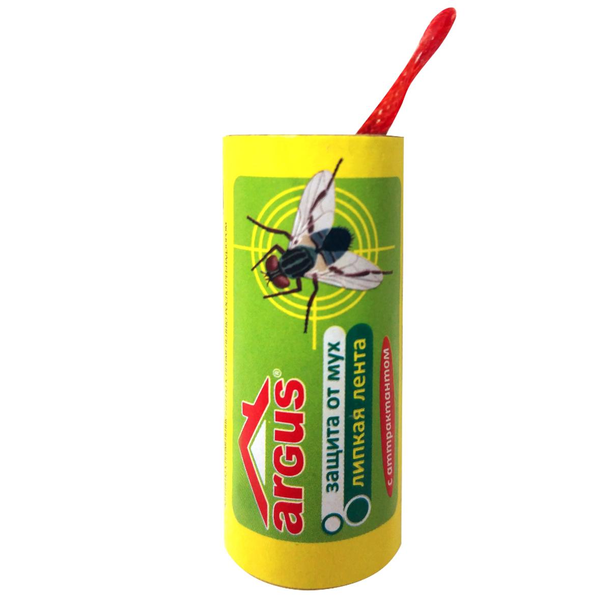 Липкая лента от мух ArgusСЗ.020003Липкая лента Argus - это удобное и простое в использовании средство, которое надежно защитит вас и вашу семью от мух в закрытом помещении или значительно снизит их количество на открытом воздухе. Специальный аттрактант является привлекательной приманкой для мух, что делает липкие ленты Argus наиболее эффективными. Не содержит веществ, опасных для людей и домашних животных. Для помещения площадью 10 м2 требуется 2-3 липучки.Состав: каучук, производные полиизобутилена, аттрактант, масло минеральное.