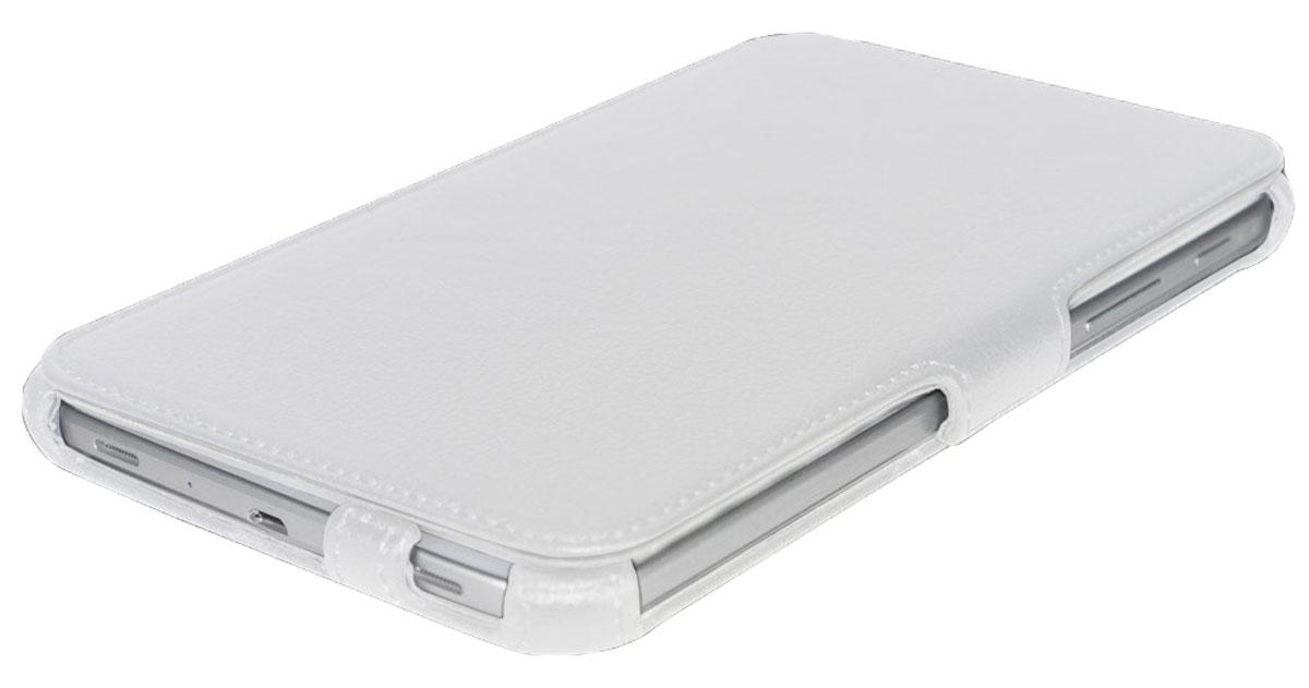 IT Baggage чехол для Prestigio Multipad Wize 3057/3067/3087, WhiteITPRE3087-0Чехол IT Baggage для Prestigio Multipad Wize 3057/3067/3087 - это стильный и лаконичный аксессуар, позволяющий сохранить планшет в идеальном состоянии. Надежно удерживая технику, обложка защищает корпус и дисплей от появления царапин, налипания пыли. Также чехол можно использовать как подставку для чтения или просмотра фильмов. Имеет свободный доступ ко всем разъемам устройства.