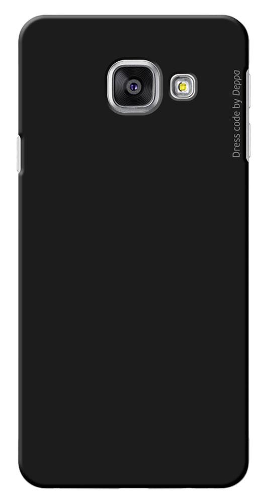 Deppa Air Case чехол для Samsung Galaxy A3(2016), Black83223Чехол Deppa Air Case для Samsung Galaxy A3(2016) предназначен для защиты корпуса смартфона от механических повреждений и царапин в процессе эксплуатации. Чехол изготовлен из поликарбоната Teijin производства Японии с покрытием Soft touch.