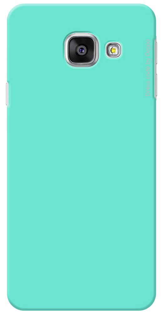 Deppa Air Case чехол для Samsung Galaxy A3(2016), Mint83226Чехол Deppa Air Case для Samsung Galaxy A3(2016) предназначен для защиты корпуса смартфона от механических повреждений и царапин в процессе эксплуатации. Имеется свободный доступ ко всем разъемам и кнопкам устройства. Чехол изготовлен из поликарбоната Teijin производства Японии с покрытием Soft touch.