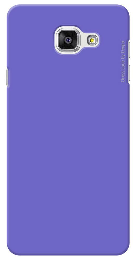 Deppa Air Case чехол для Samsung Galaxy A7(2016), Purple83235Чехол Deppa Air Case для Samsung Galaxy A7(2016) предназначен для защиты корпуса смартфона от механических повреждений и царапин в процессе эксплуатации. Имеется свободный доступ ко всем разъемам и кнопкам устройства. Чехол изготовлен из поликарбоната Teijin производства Японии с покрытием Soft touch.