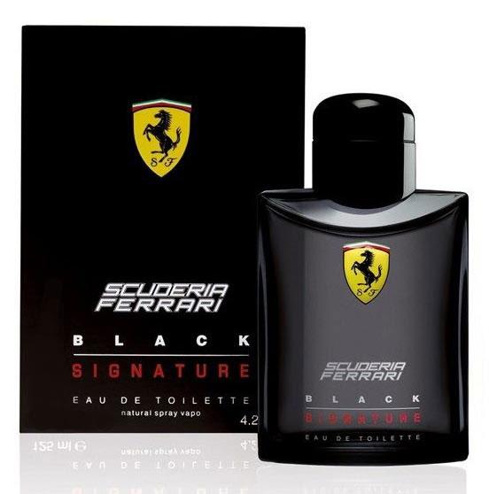 Ferrari Туалетная вода BLACK SIGNATURE мужская, 125 мл67000091Scuderia Ferrari Black Signature Ferrari - это аромат для мужчин, принадлежит к группе ароматов фужерные. Scuderia Ferrari Black Signature выпущен в 2013. Верхние ноты: грейпфрут, Зеленое яблоко и Звездчатый анис; ноты сердца: мускатный орех, Мускус, кожа и Морские ноты; ноты базы: Ветивер, Белый кедр и Амбретта.