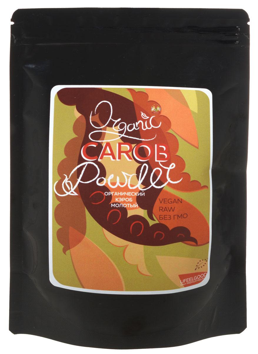 UFEELGOOD Organic Carob Powder органический кэроб молотый, 200 г фитпарад 10 заменитель сахара на основе эритрита 200 г