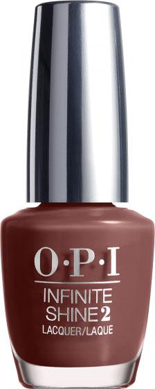 OPI Лак для ногтей Infinite Shine Linger Over Coffee, 15 мл
