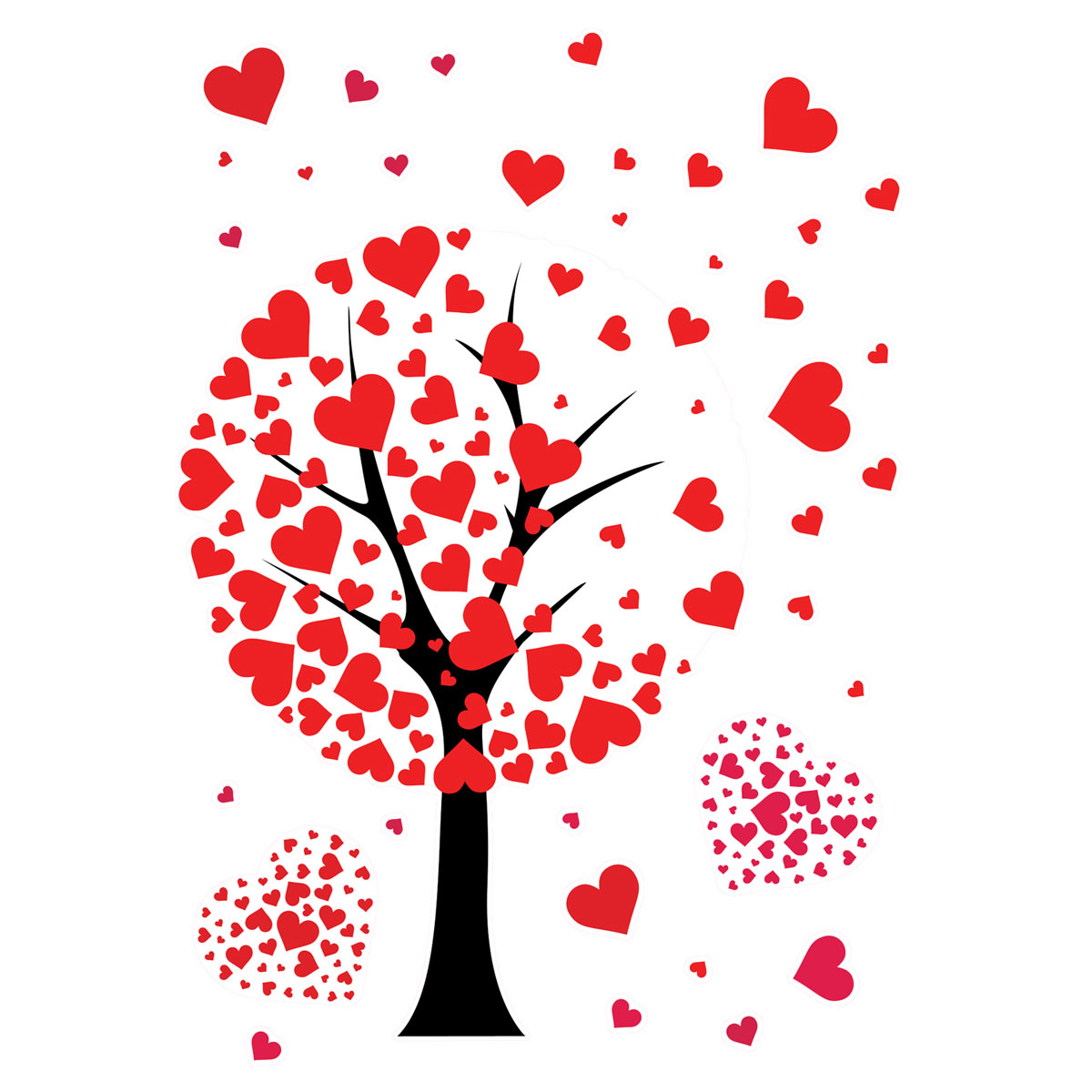 Украшение для стен и предметов интерьера Decoretto Дерево любви