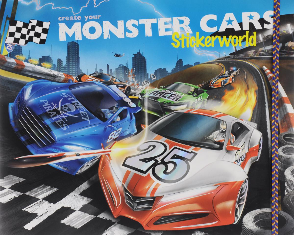 Create your: Monster Cars: Stickerworld / Альбом с наклейками наклейки детские depesche альбом topmodel fantasy мир стикеров с наклейками