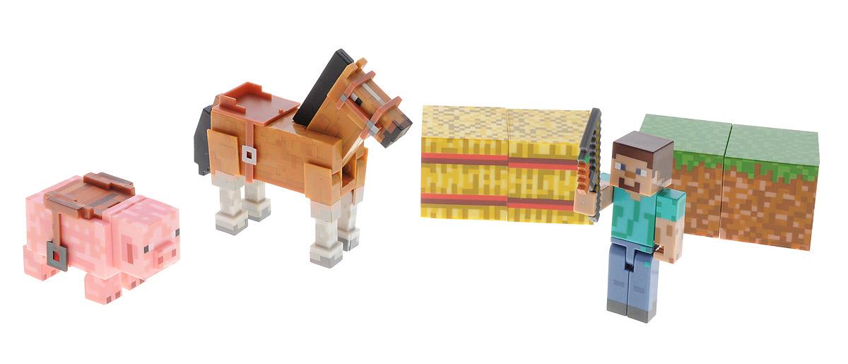 Minecraft Игровой набор Saddle Pack игрушка minecraft набор алекс с скелетом лошади игровой набор