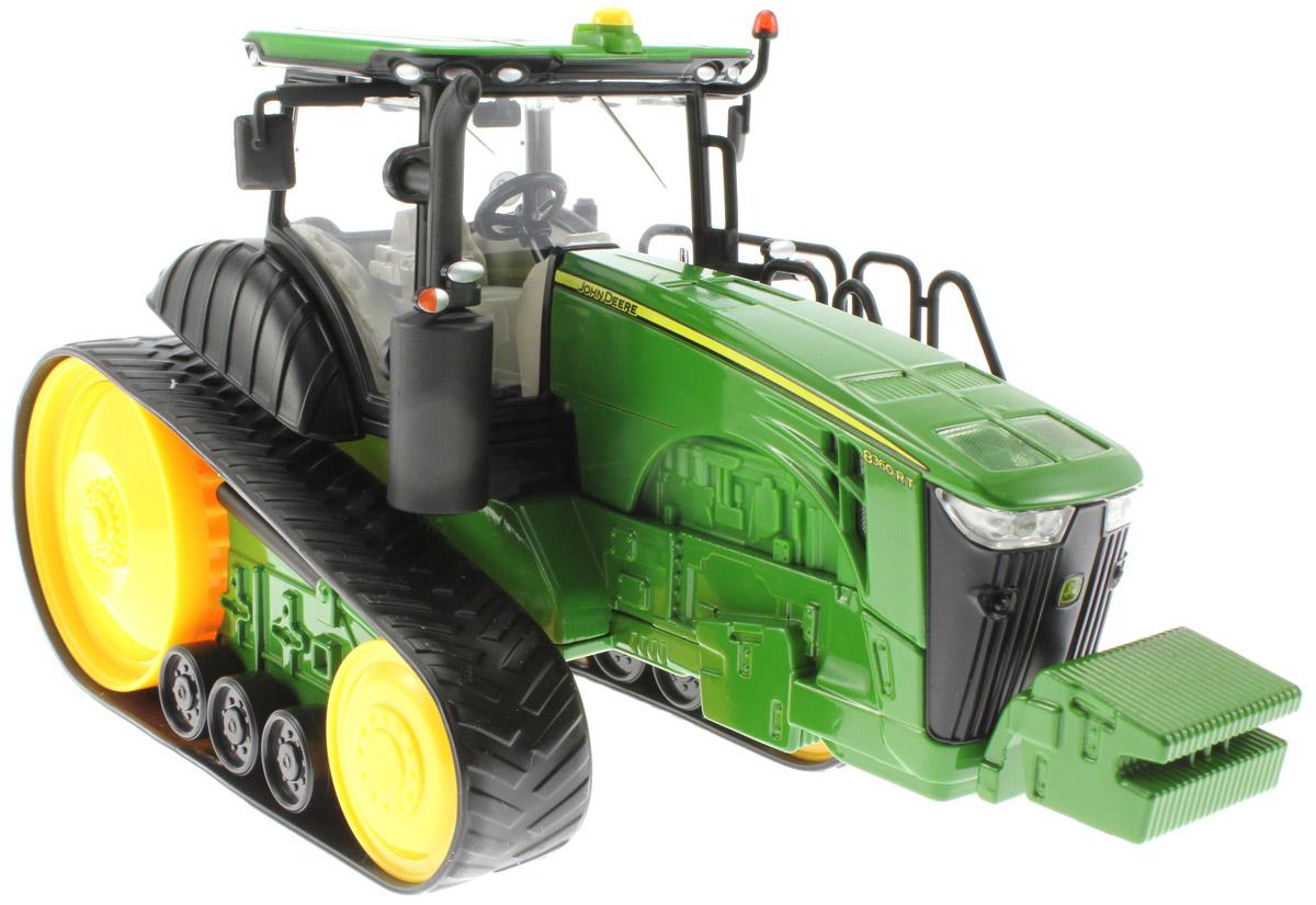 Siku Трактор John Deere 8360RT трактор tomy john deere зеленый 19 см с большими колесами звук свет