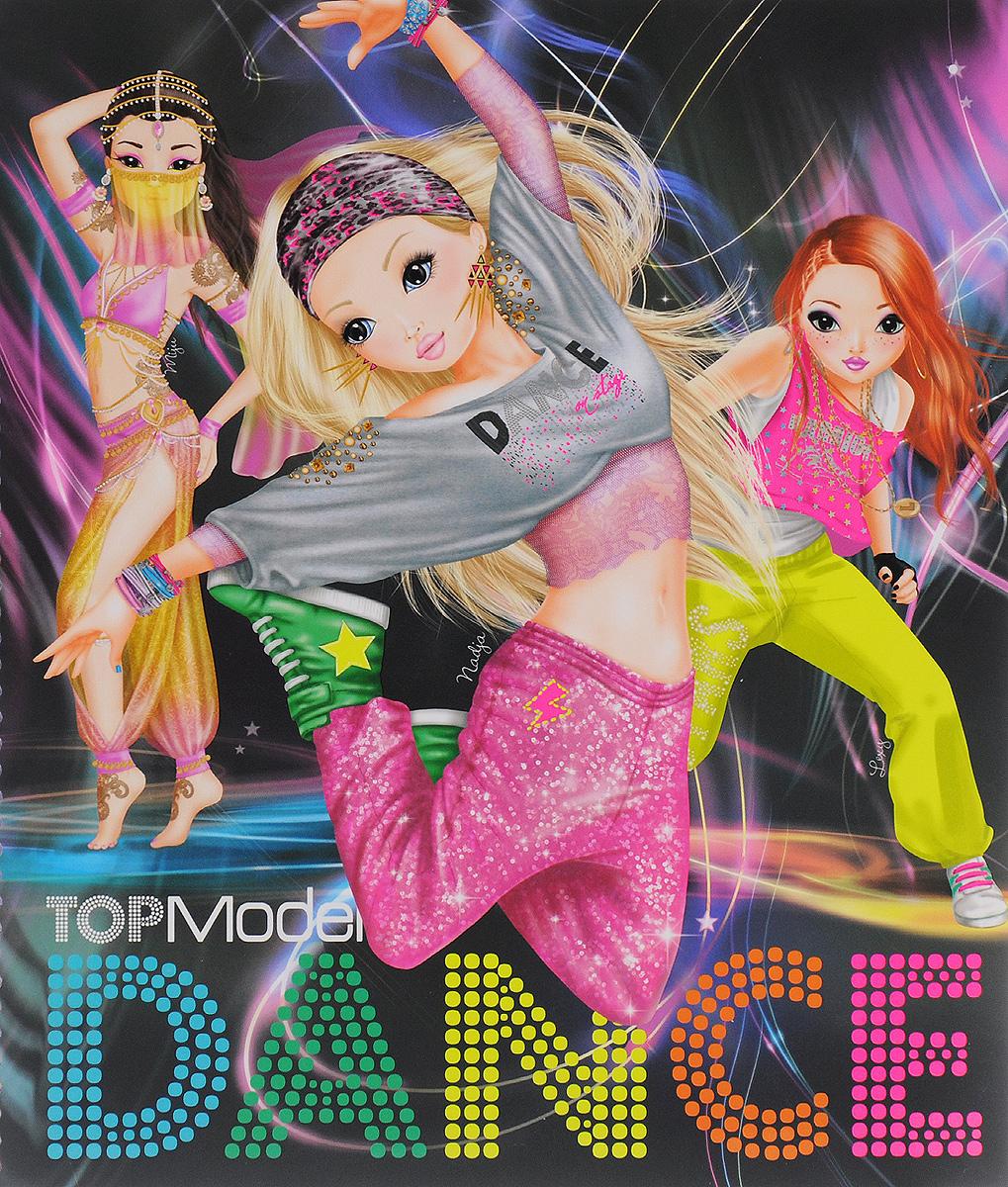 Top Model: DANCE. Раскраска