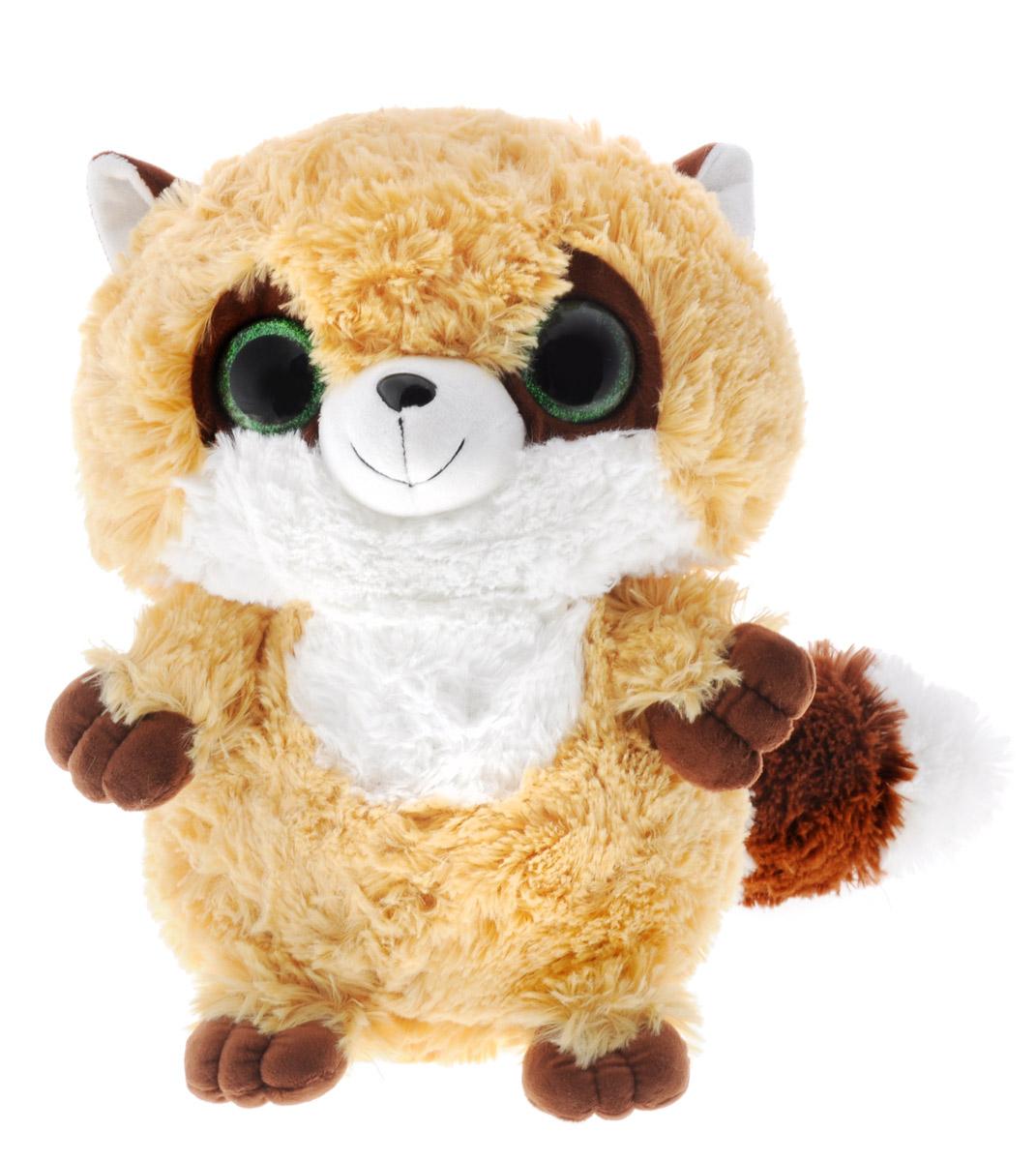 СмолТойс Мягкая игрушка Енотик цвет бежевый 30 см мягкая игрушка смолтойс кевин в робе 30 см