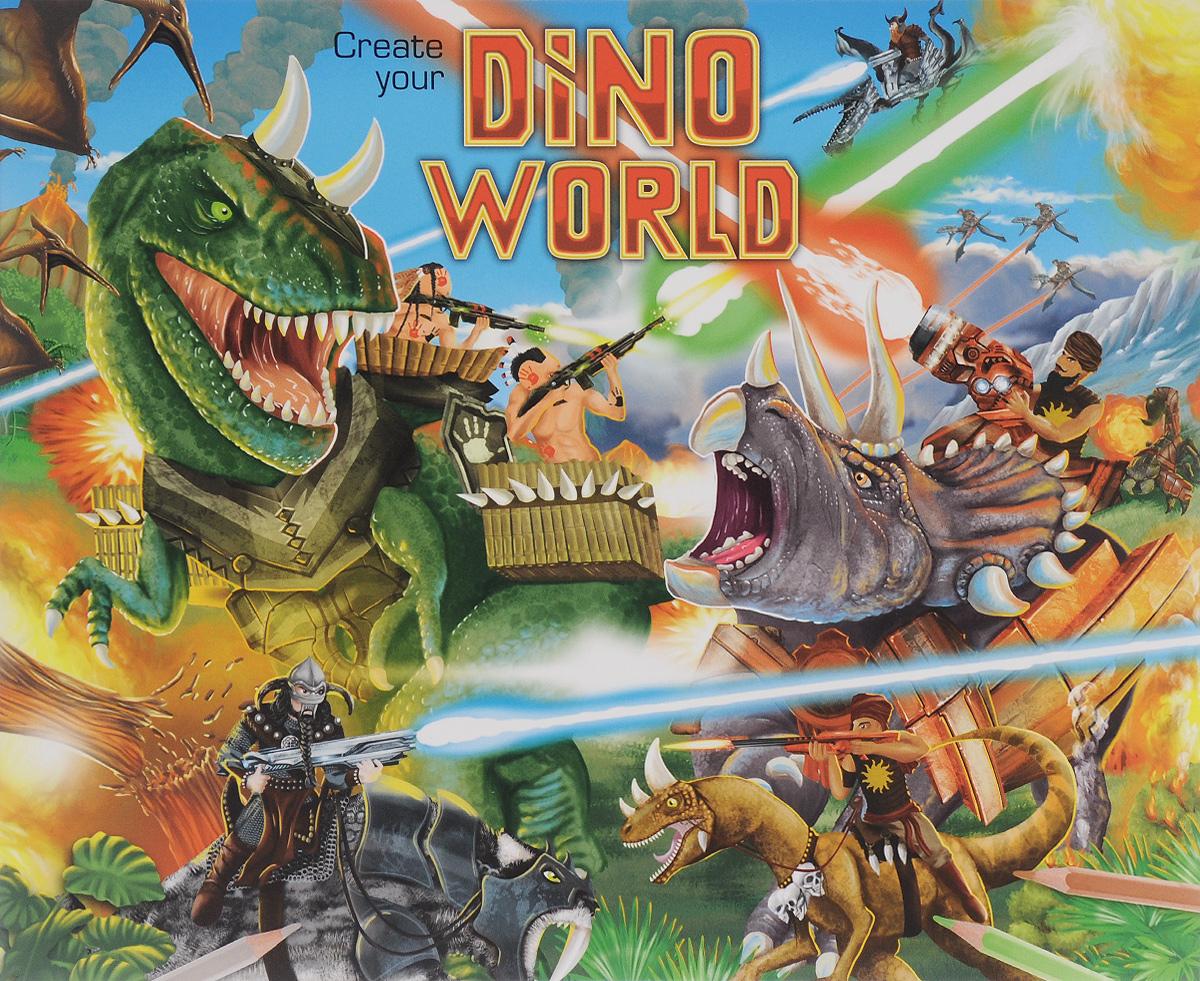 Creative Studio: Create Your Dino World. Альбом с наклейками