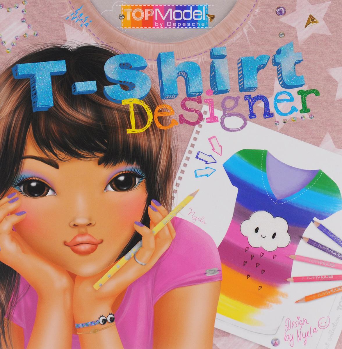 Top Model: T-Shirt Designer. Раскраска