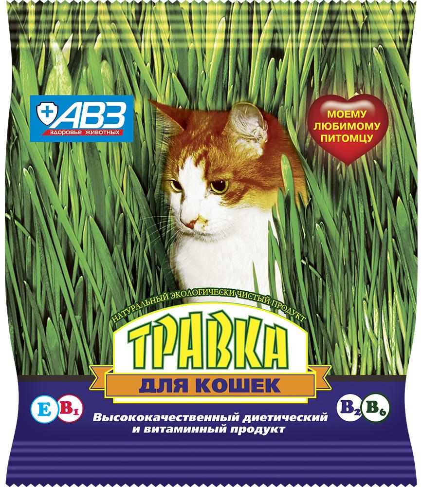 Травка для кошек Агроветзащита,30 г3866Молодая зелень «Травки» – это натуральный, экологически чистый продукт, рекомендованный в зимнее и весеннее время кошкам, грызунам и птицам. Оптимальное соотношение углеводов, белков, жиров и витаминов в «Травке» позволяет использовать ее как диетическое и лечебное средство. «Травка» содержит целый ряд незаменимых аминокислот, калий, кальций, кремний, магний, серу, фосфор, микроэлементы, витамины В1, В2, В6, (?-каротин, Е, холин, биотин, фолацин).