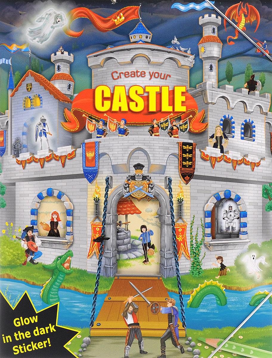 Creative Studio: Create your Castle (альбом с наклейками)