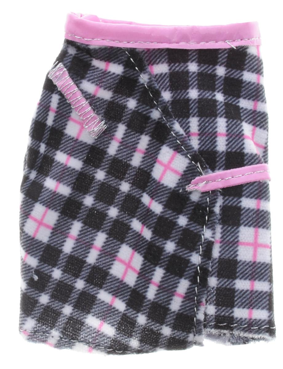 Barbie Одежда для кукол Юбка цвет черный розовый куклы и одежда для кукол barbie кукла барби с катером