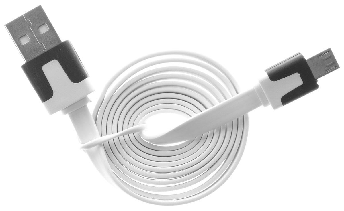 OLTO ACCZ-3015, White кабель USBO00000266Кабель OLTO ACCZ-3015 для соединения microUSB устройств c USB-портом. Он может использоваться для передачи данных, зарядки аккумулятора и адаптирован для работы со всеми операционными системами. Главное достоинство OLTO ACCZ-3015 в его внешнем виде. Он выгодно отличается от привычных и скучных расцветок стандартных кабелей.