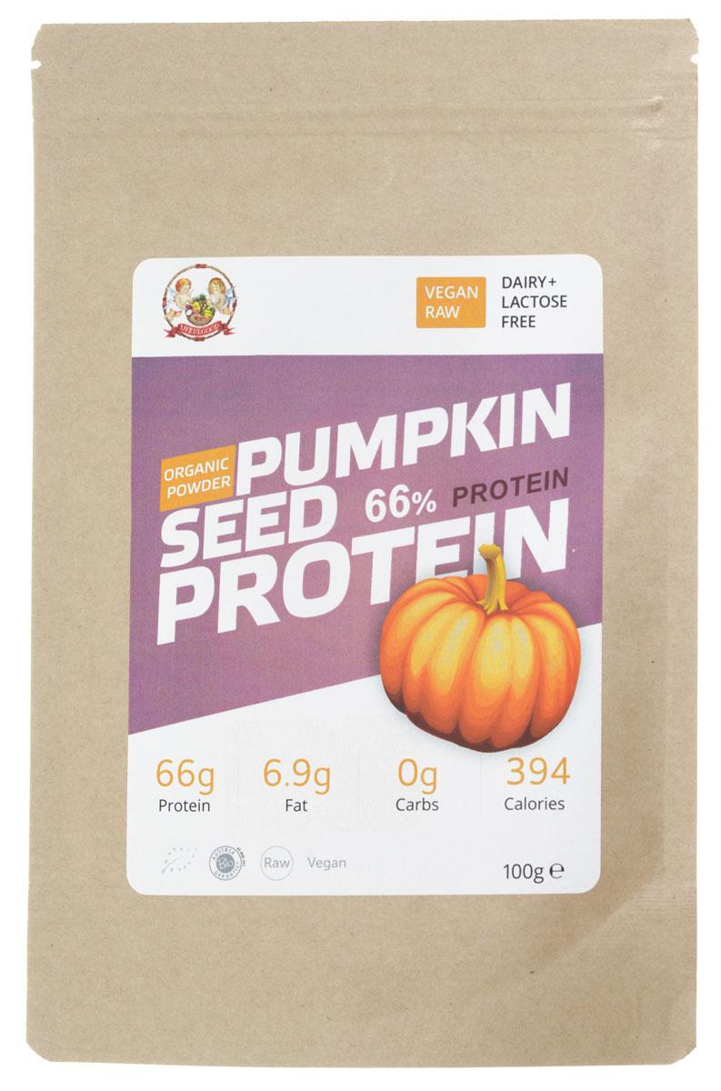 UFEELGOOD Organic Pumpkin Seeds Protein органический тыквенный протеин, 100 г протеин geneticlab сывороточный протеин whey pro 100