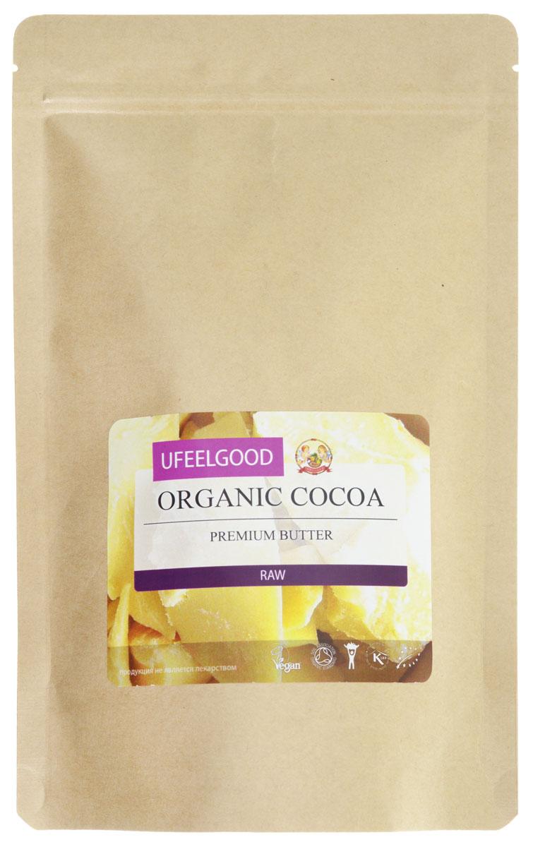 UFEELGOOD Organic Cocoa Premium Butter органическое какао масло, 200 г111Какао - масло UFEELGOOD прошло сертификацию, оно является необработанным натуральным продуктом. Масло из какао бобов получают путём холодного прессования, что позволяет сохранять и сконцентрировать в масле все полезные свойства растения. Масло какао обладает многими полезными свойствами:Замедляет старение кожиВосстанавливает водный балансРазглаживает морщиныПоддерживает здоровье сердцаСнижает кровяное давлениеСнижает угрозу сердечно - сосудистых заболеванийКакао - масло рекомендуют употреблять не только в пищу, но и наружно для местного увлажнения, смягчения кожи. Оно эффективно при лечении дерматита, помогает при появлении шрамов, растяжек. Наше перуанское какао масло признано самым вкусным и полезным шоколадным продуктом. Оно исключает добавление химических усилителей вкуса и сахаров.