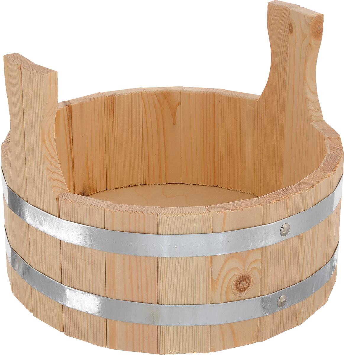 Шайка для бани и сауны Доктор баня, 5 л ковш доктор баня узор 3 л