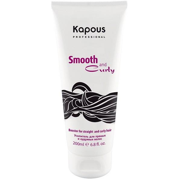 Kapous Усилитель для прямых и кудрявых волос Smooth and Curly 200 млKap567Усилитель Amplifier из серии Smooth and Curly от Капус – это универсальный стайлингово-защитный продукт, позволяющий моделировать удивительно упругие завитки или дарить прядям потрясающую гладкость. Усилитель подходит для укладки волос любого типа и гарантирует им:полную защиту от негатива высоких температур;аккуратный вид на протяжении дня;дополнительные уход и увлажнение;глубокое кондиционирование и смягчение.Состав Amplifier обогащен натуральными маслами, улучшающими качество локонов, и растительными аминокислотами, укрепляющими волосы изнутри. За счет нежной консистенции средство легко наносится, не перегружает пряди, а также не забирает их природной пышности. С ним локоны отлично держат форму и не теряют структурности, а гладкие пряди – не пушатся и не завиваются даже при высокой влажности.