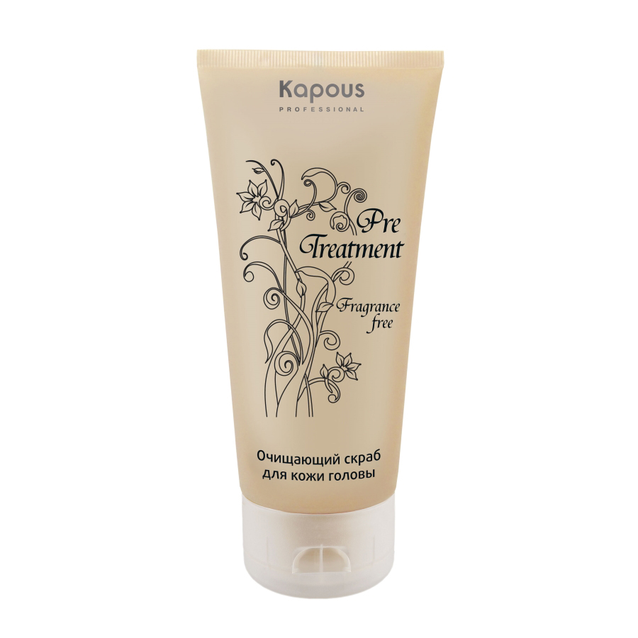 Kapous Treatment Очищающий скраб для кожи головы PreTreatment 150 млKap587Очищающий скраб для кожи головы предназначен для глубокого очищения и увлажнения кожи головы, улучшения кровообращения и кислородного обмена в волосяных луковицах, предотвращения выпадения волос, стимуляции роста новых. Рекомендован в качестве предварительного ухода перед мытьем головы, лечением или любой СПА-процедурой. Натуральные микрочастицы грецкого ореха деликатно ошелушивают ороговевшие чешуйки верхнего слоя эпидермиса, тщательно удаляя омертвевшие клетки и токсины, тем самым предотвращая развитие дерматита на коже и стимулируя регенерацию кожного покрова. Мощное противогрибковое средство Peroctone Olamine оказывает ациостатическое воздействие, направленно действует против образования перхоти, благодаря чему восстанавливается сбалансированная жизнедеятельность клеток эпидермиса кожи и укрепление естественных защитных функций. Экстракты лечебных трав оказывают антисептическое, успокаивающее, противовоспалительное действие, придавая эффект свежести. Результат: Регулярное применение обеспечивает долговременный результат. Благодаря экстрактам лопуха и крапивы скраб добивается максимального очищения кожи головы от загрязнений, оптимального воздействия на кожу и волосяные луковицы, что подготавливает ее к курсу профилактических мероприятий для решения имеющихся проблем.