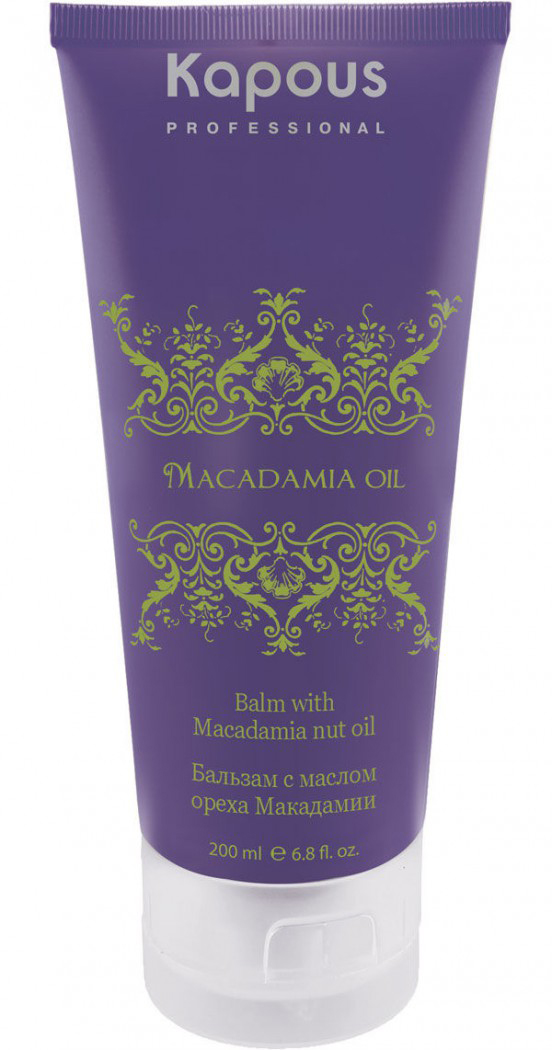 Kapous Маска для волос с маслом ореха макадамии Macadamia Oil 150 мл