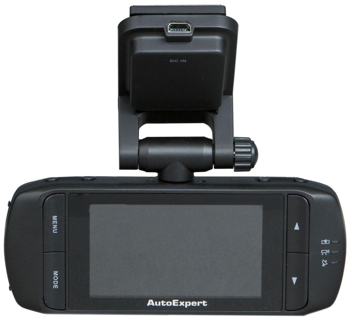 AutoExpert DVR 810, Black автомобильный видеорегистратор2170816988101Видеорегистратор AutoExpert DVR 810 – устройство, предназначенное для видеофиксации событий, связанных, в основном, с вождением автомобиля. Основная задача видеорегистратора - как можно более полно и четко зафиксировать любые неблагоприятные события, которые могут случиться во время движения автомобиля. Зафиксированные видеорегистратором материалы могут сыграть ключевую роль в спорных ситуациях на дороге. Процессор: Ambarella A2s60 (216 МГц)Матрица: Micron MI5100 (1/2,5)Формат видеозаписи: MOV (H.264 кодек)Формат фотосъемки: JPEGОбъектив: f=3.4 при F2.0Цифровое увеличение объектива: 8x (в режиме фото)Государственный номер авто: девятизначныйВстроенная память: 32 MБАккумулятор: 450 мАч