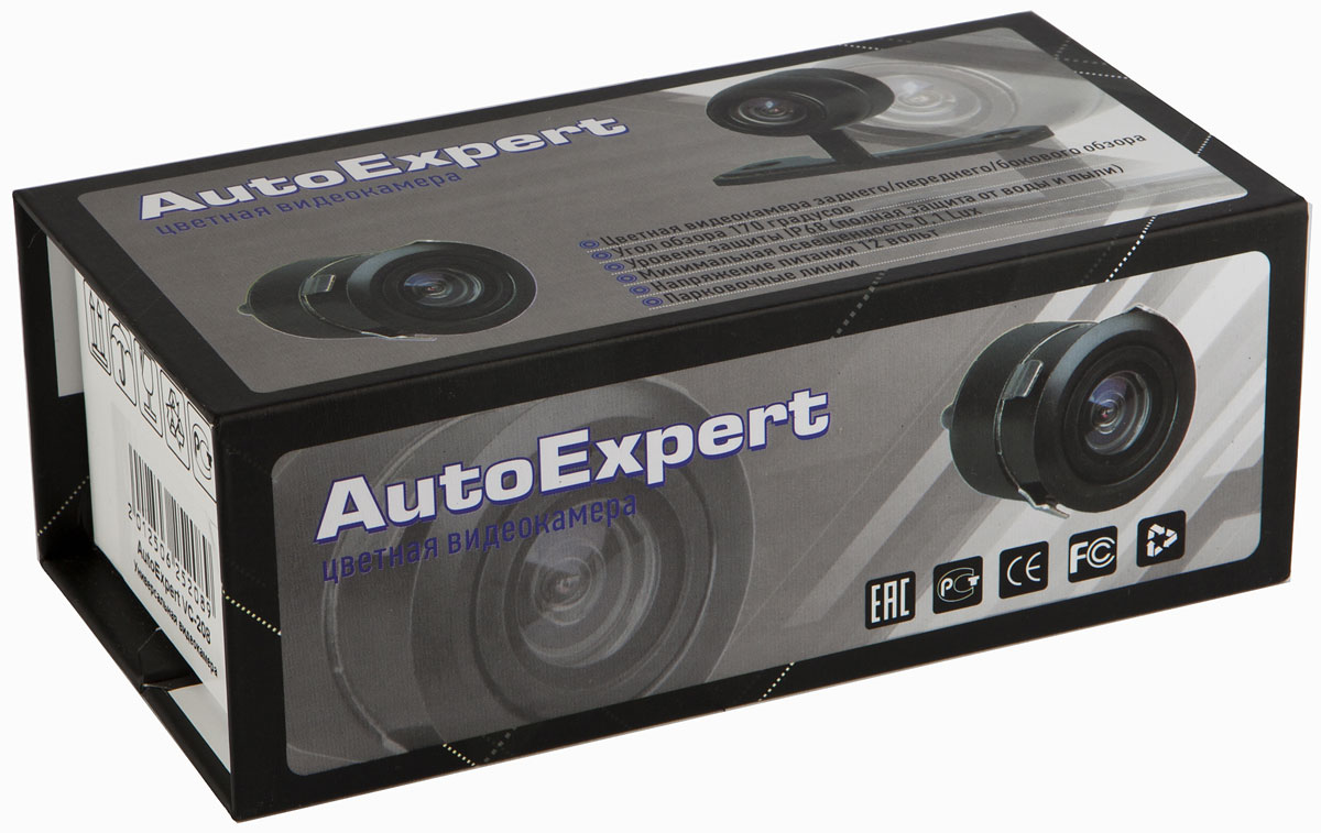 AutoExpert VC 214, Blackавтомобильная камера заднего вида AutoExpert