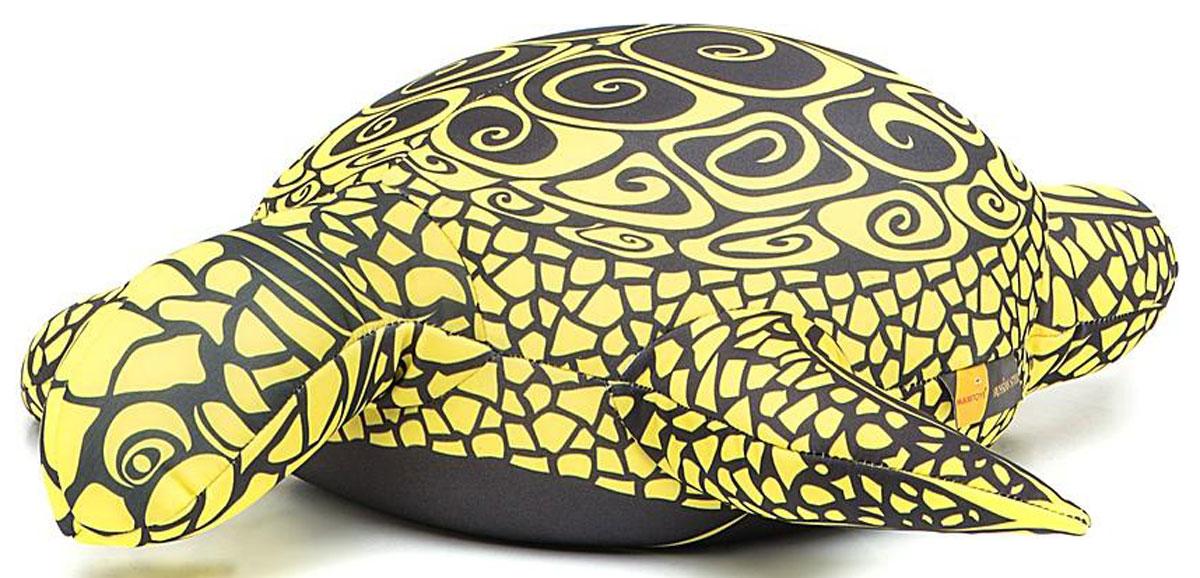 Maxi Toys Мягкая игрушка-антистресс Черепашка Геля цвет желтый 43 см maxi toys мягкая игрушка антистресс