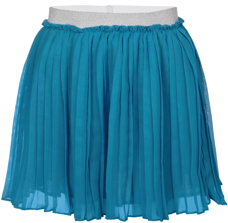 Юбка для девочки PlayToday, цвет: бирюзовый. 162157. Размер 104, 4 года162157Пышная юбка для девочки PlayToday станет отличным дополнением к гардеробу маленькой модницы.Изготовленная из полиэстера на подкладке из натурального хлопка, она мягкая и приятная на ощупь, не сковывает движения и хорошо пропускает воздух.Благодаря блестящей эластичной резинке на поясе юбка не сползает и не сдавливает животик ребенка. От линии талии заложены складочки, придающие изделию воздушность. Верх юбки выполнен из мягкой микросетки. В такой юбочке ваша маленькая принцесса всегда будет в центре внимания!