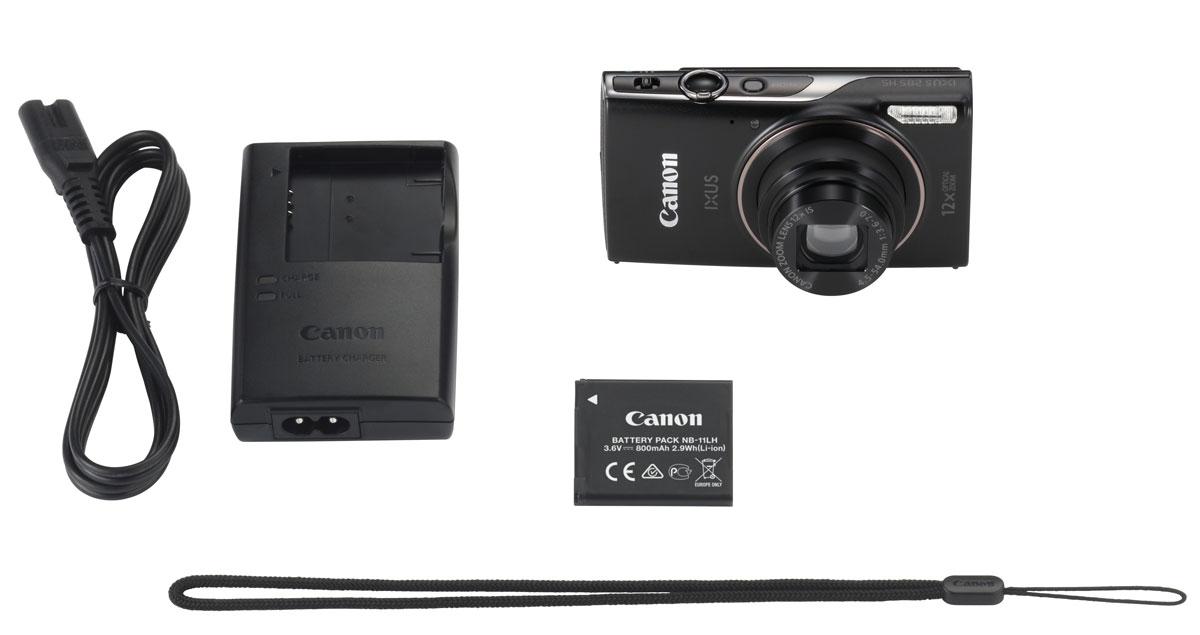 Canon IXUS 285HS, Blackцифровая фотокамера Canon