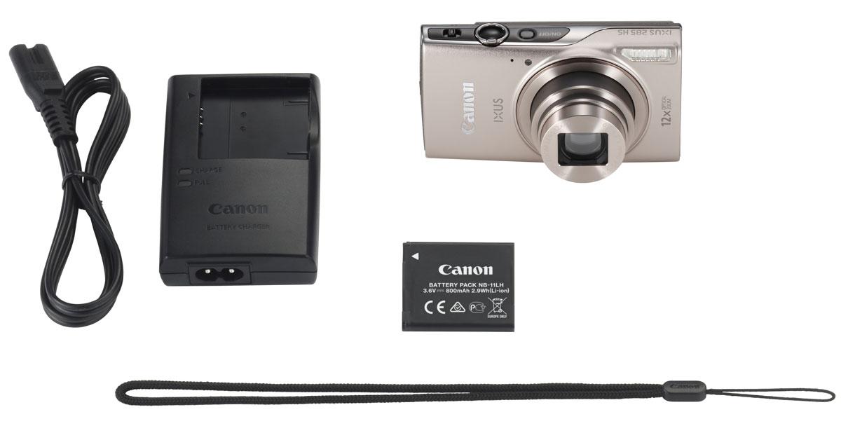 Canon IXUS 285HS, Silverцифровая фотокамера